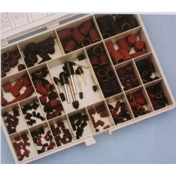 Aero-Naut Wood and Metal Abrasives Assortment Box 135 pcs