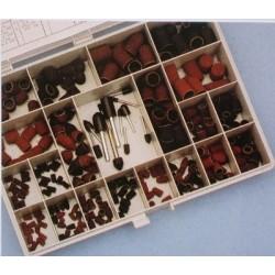 Aero-Naut Wood and Metal Abrasives Assortment Box 135 pcs