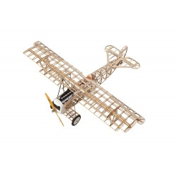 Super Flying Model Fokker DVII EP Biplane Kit