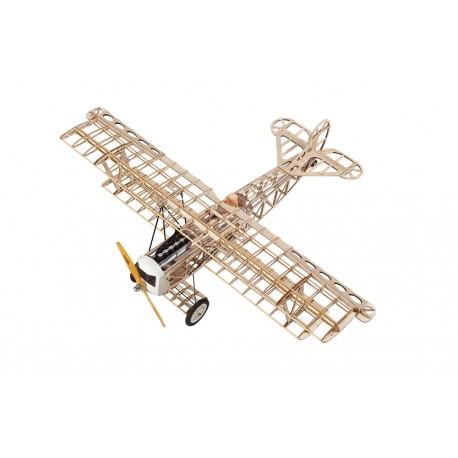 Super Flying Model Fokker DVII EP Biplane Kit