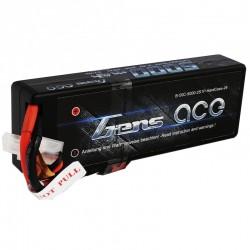 Gens Ace 5000mAh 7.4V 50C 2S1P HardCase Lipo Battery