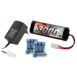 Robitronic Elektro Starter Kit (Peaklader, Stickpack, Senderbatterie)