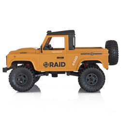Funtek 4x4 Raid Version 2 Yellow 1/12 RTR