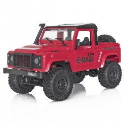 Funtek 4x4 Raid Version 2 Red 1/12 RTR