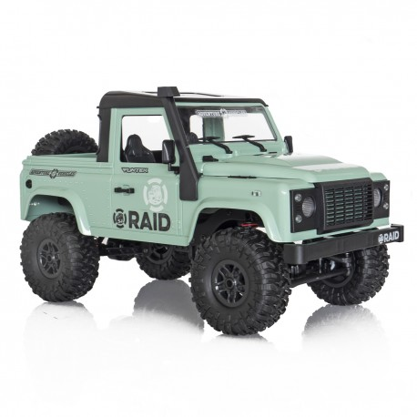 Funtek 4x4 Raid Version 2 Green 1/12 RTR
