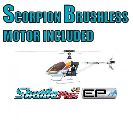 Hirobo Shuttle Plus+2 EP Kit Electric