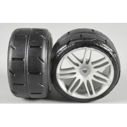 FG 08432 - Rear tires type A glued (2p)