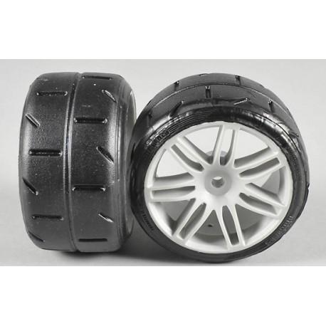 FG 08432 - Rear tires type A glued (2p)