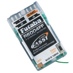 Futaba R6004FF 4-Channel Indoor FASST Micro Receiver
