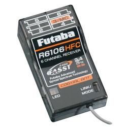 Futaba R6106HFC 6-Channel FASST Mid-Range Receiver