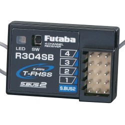 Futaba R304SB S.Bus2 4-Channel T-FHSS Telemetry Rx