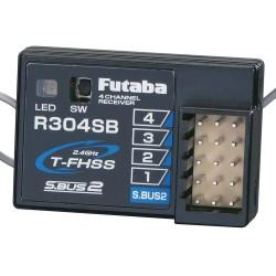 Futaba R304SB S.Bus2 4-Channel T-FHSS Telemetry Rx