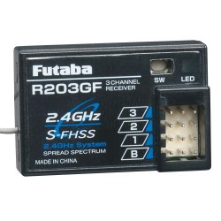 Futaba R203GF 3-Channel S-FHSS Receiver