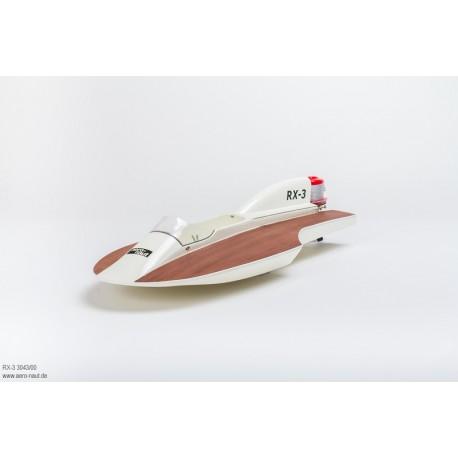 Aero-Naut RX-3 Outbord Hydroplane Racing Boat kit