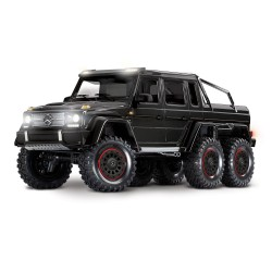 Traxxas TRX-6 Mercedes-Benz G 63 AMG 6x6 1/10 RTR (Gloss Black)