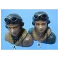 MIP Warbird Pilot Bust Scale 1: 9