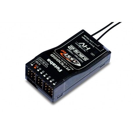 Futaba R7108SB 8/18-Channel FASST/FASSTest S-Bus (HV)