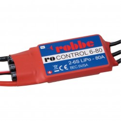 Robbe Ro-Control 6/80 2-6S -80 (100A) Brushless ESC