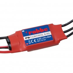 Robbe Ro-Control 6/60 2-6S -60 (80A) Brushless ESC