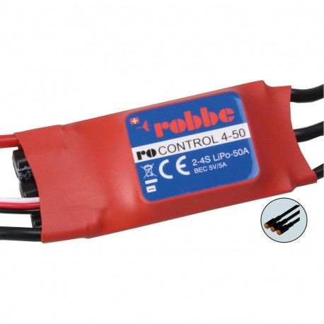 Robbe Ro-Control 4/50 2-4S -50 (70A) Brushless ESC
