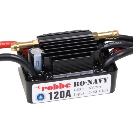 Robbe Ro-Control Navy 6/120 2-6S 120A Brushless BEC