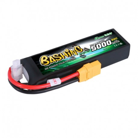 Gens Ace Bashing Series 5000mAh 11.1V 3S1P 50C Lipo Battery Pack with XT-90 Plug