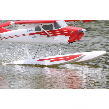 Robbe Float Cessna 170 with Stays, Servo and Led Lighting