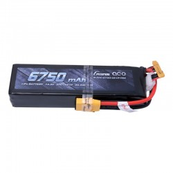 Gens Ace 6750mAh 14.8V 50C 4S1P Lipo Battery Pack with XT90 for X-Maxx