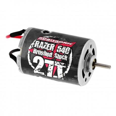 Robitronic Razer 540 Motor 27 Turn Brushed Stock