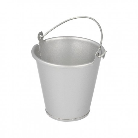 Robitronic Metal bucket Silver