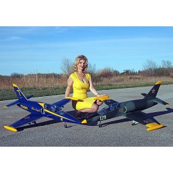 Sebart Mini L39 Albatross - EDF 90mm 6S or Turbine P20 (Blue Angels Version)