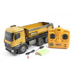FM Electrics Huina 1573 1/16 RC Metal Dump Truck RTR