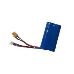 FM Electrics Battery for Huina 1580 Full Metal Excavator 7.4V, 2000 mAh