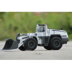 FM Electrics 1566 1/14 RC L566 Liebherr Metal Wheel Loader