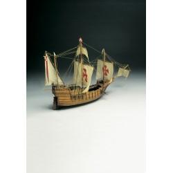 Mantua Model 1/50 Santa Maria 1492 Wooden Kit