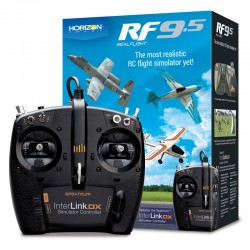 RealFlight 9.5 Sim with Spektrum InterLink DX Simulator Controller