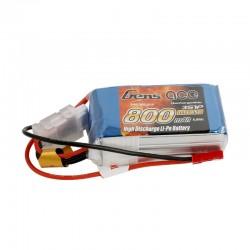 Gens Ace Lipo 800mAh 11.1V 45C 3S1P Lipo Battery Pack