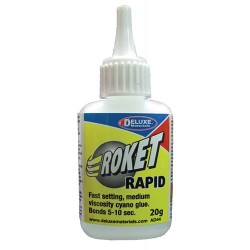 Deluxe Materials Roket Rapid Cyano Glue 20g