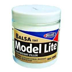 Deluxe Model Lite Balsa Lightweight Filler 240ml