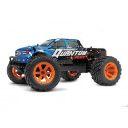 Maverick Quantum MT Flux 1/10 Monster Truck Blue/Orange RTR