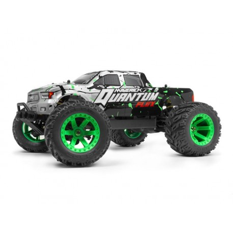 Maverick Quantum MT Flux 1/10 Monster Truck Blue/Orange RTR
