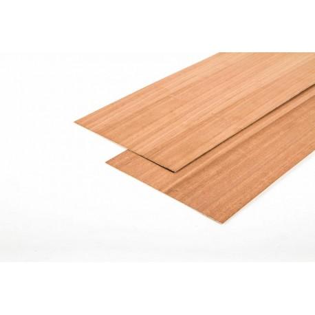 Aero-naut Mahogany Plywood 500x100x1mm