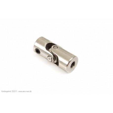 Aero-Naut Cardan Coupling 22 × 4.0 / 3.17mm