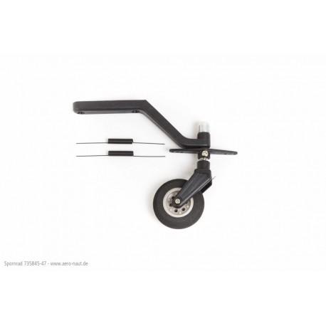 Aero-Naut Tail Landing Gear 125x34mm