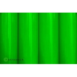 Oracover - Fluorescent Green L- 60cm x C- 2m