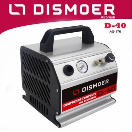 Dismoer Compressor D-40 Airbrush Set
