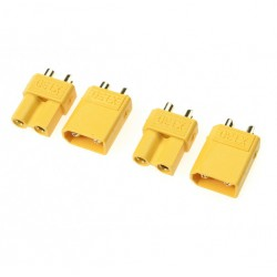 G-Force Connector Xt-30 Gold Plated Male + Female (2 Pairs)