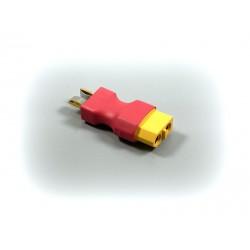 Absima Adapter T-Plug Male to XT-60 Female