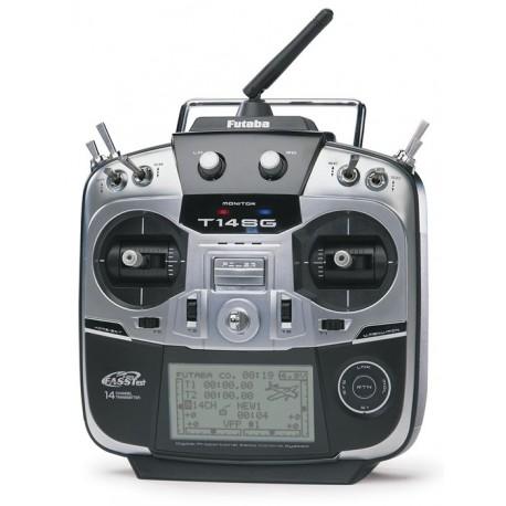 Futaba T14SG Super FASSTest Transmitter + R7008SB Receiver