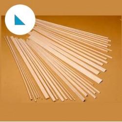 Longarina triangular balsa 10x10x1000mm